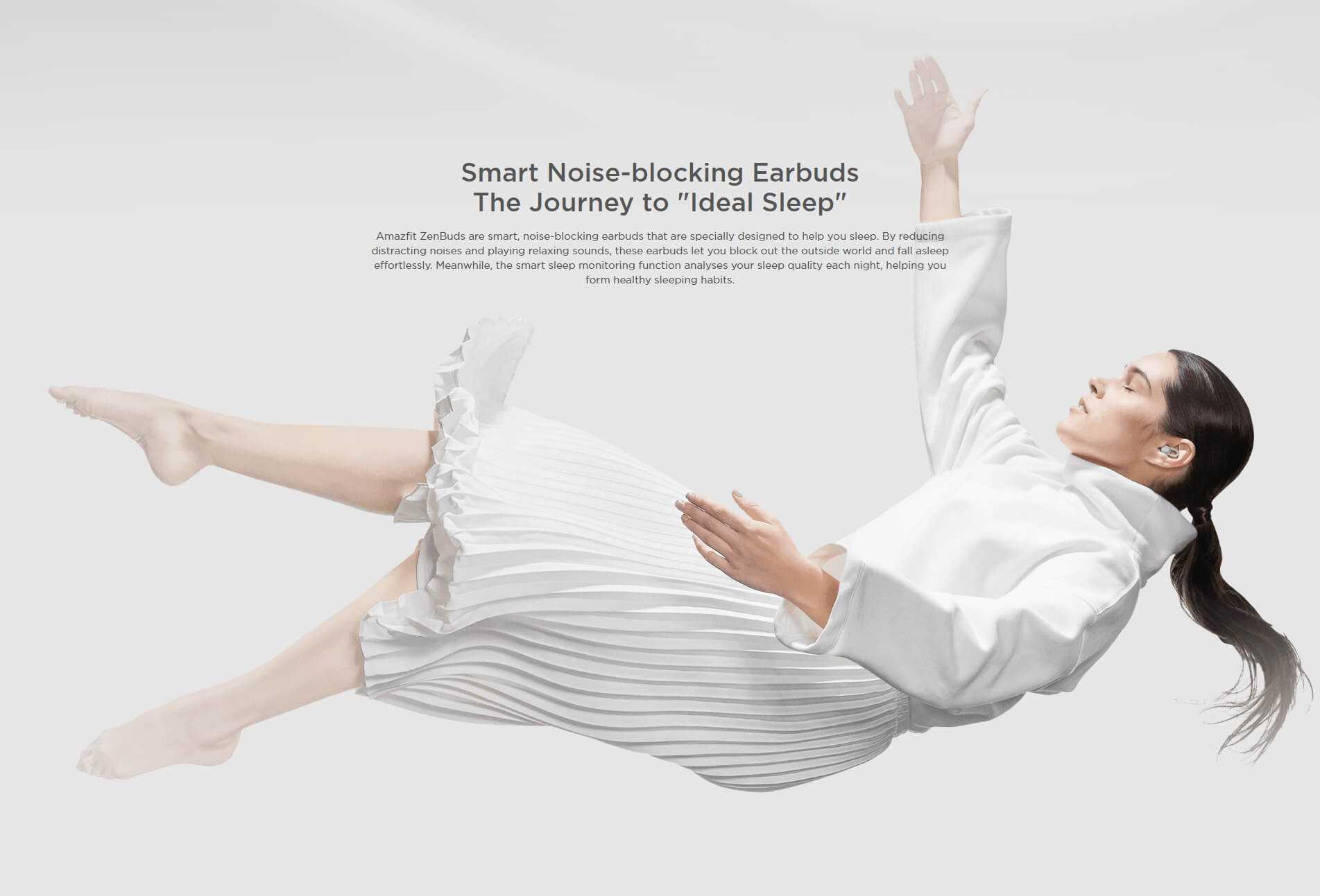 Amazfit ZenBuds Smart Noise-blocking Earbuds Wholesale
