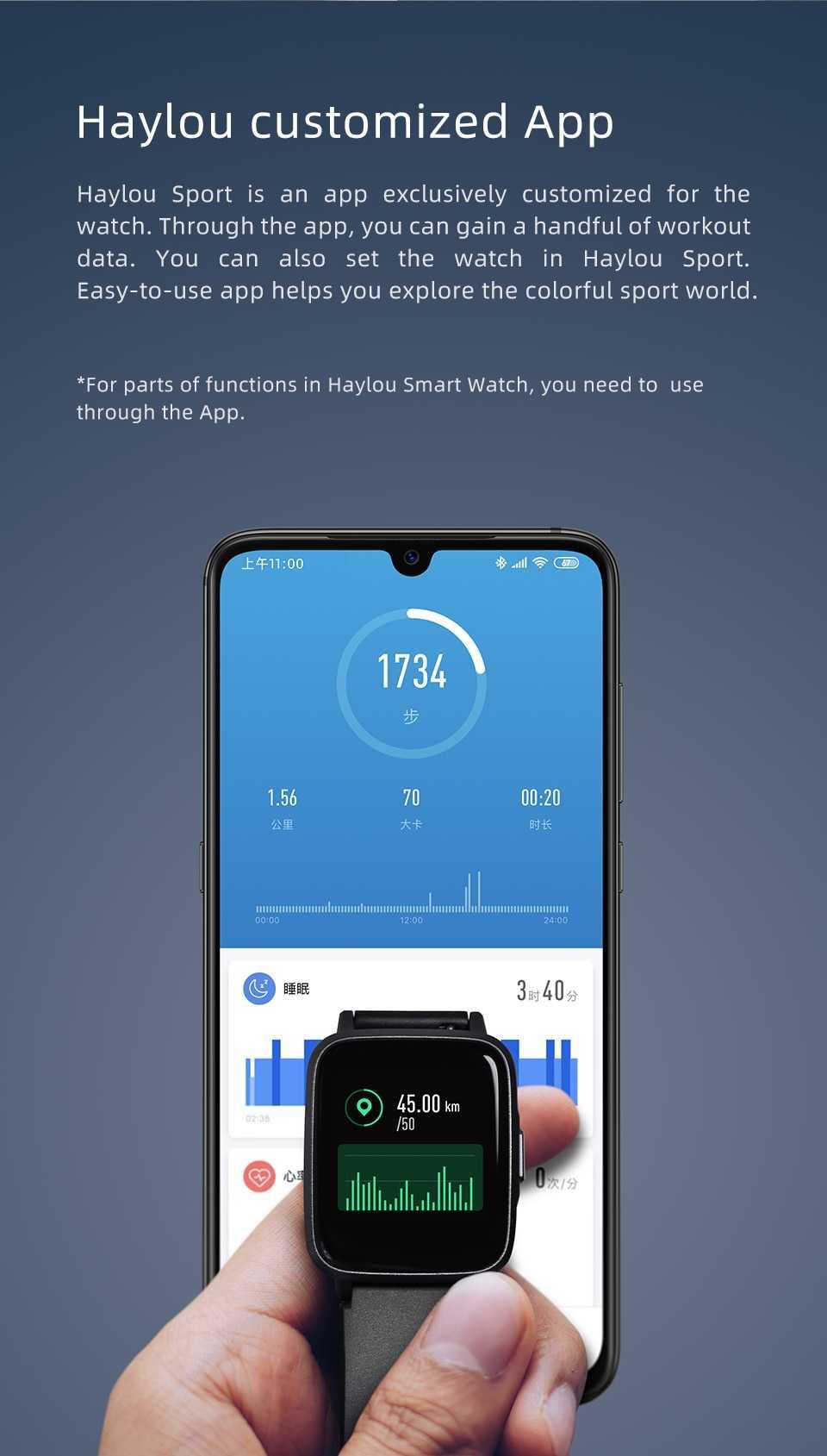 Haylou LS01 Smart Watch Wholesale
