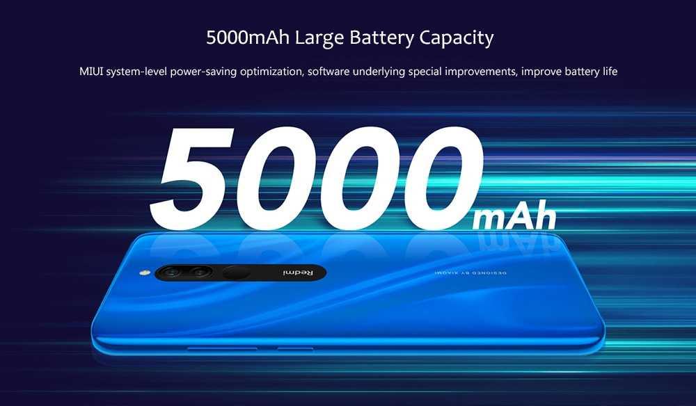 Xiaomi Redmi 8 4G Phablet 3GB RAM 32GB ROM- Gray