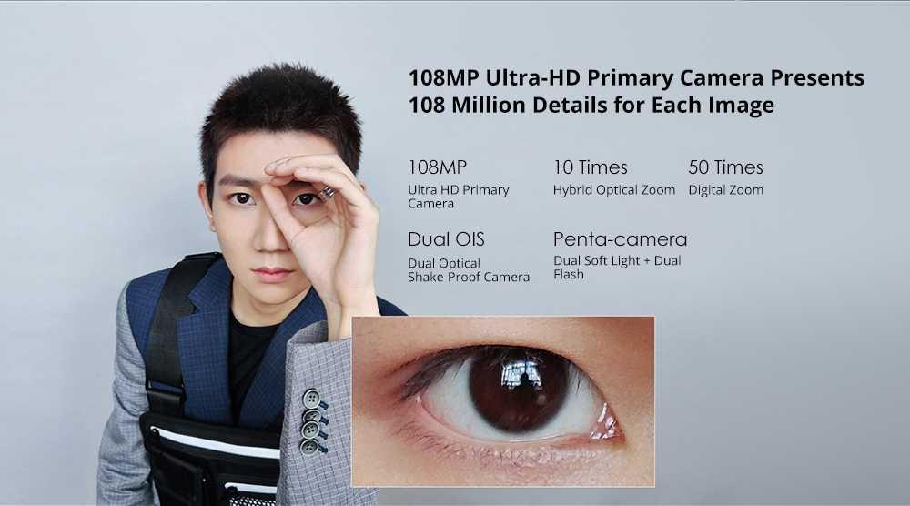 Xiaomi Note 10 108MP Penta Camera Smartphone Wholesale