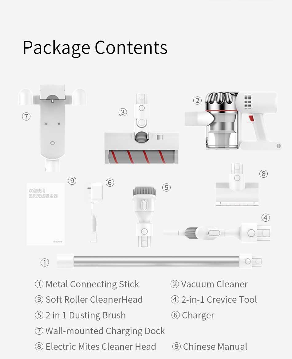 Mi Dreame V9P cordless vacuum