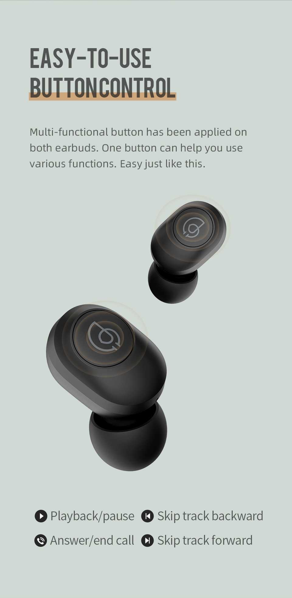 Haylou GT2 3D Stereo Bluetooth Earphones Wholesale
