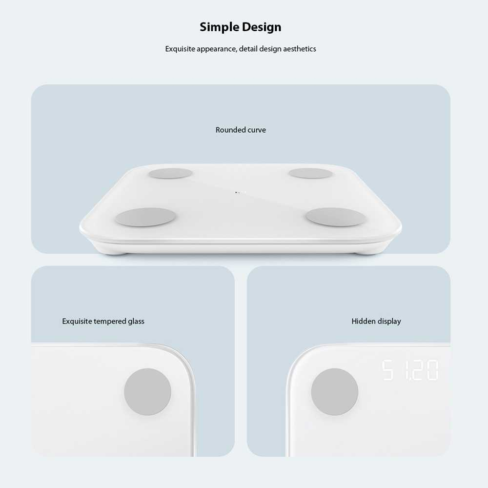 Xiaomi Mi Scale 2 Smart Body Fat Scale Wholesale