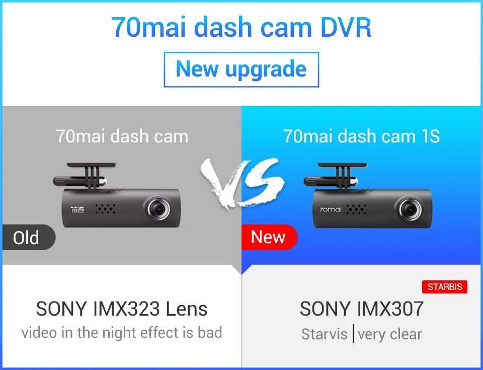 Mi 70mai Smart Dash Cam 1S