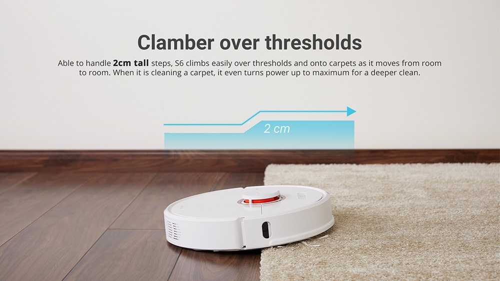 Roborock S6 Robot Vacuum Cleaner wholesale