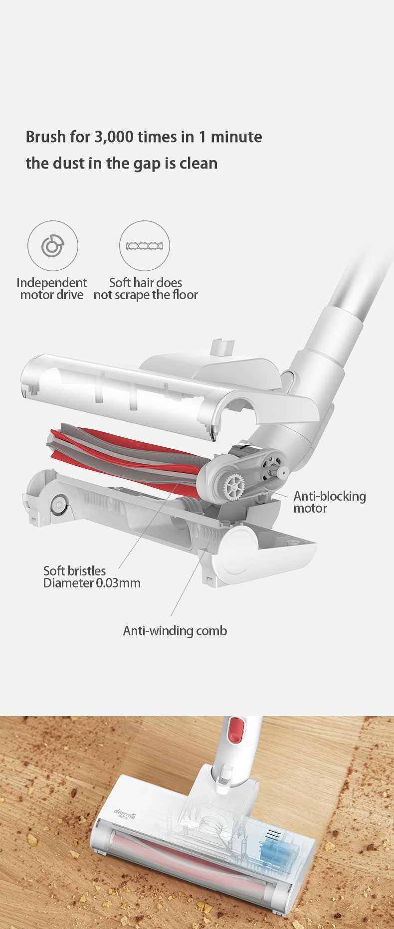Mi Deerma Handheld Wireless Vacuum Cleaner VC20