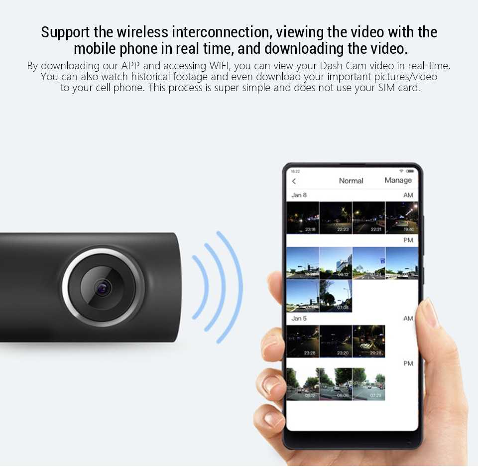 Xiaomi 70Mai 1S Dash Camera Wholesale