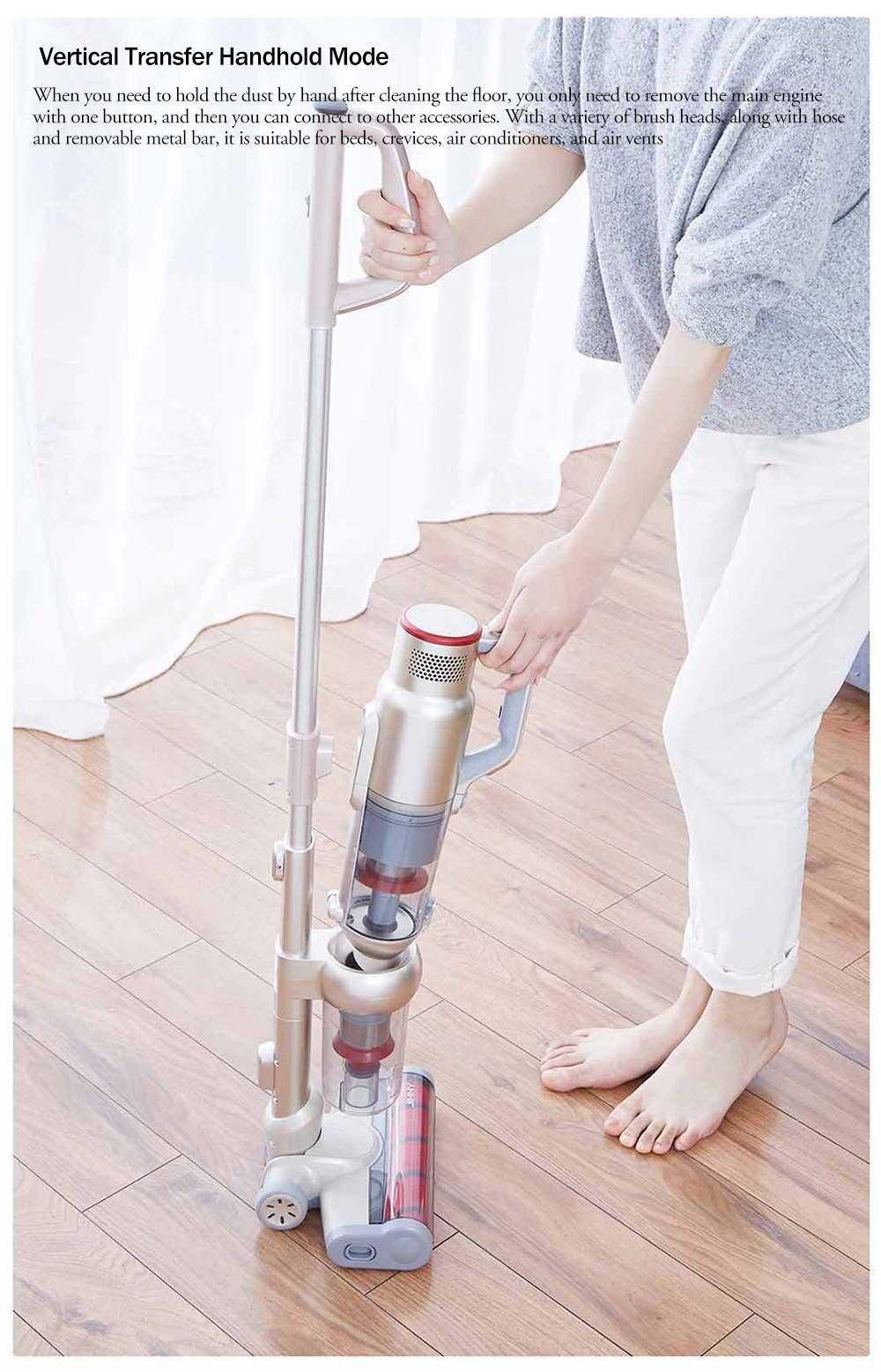 Jimmy JV 71 cordless vacuum