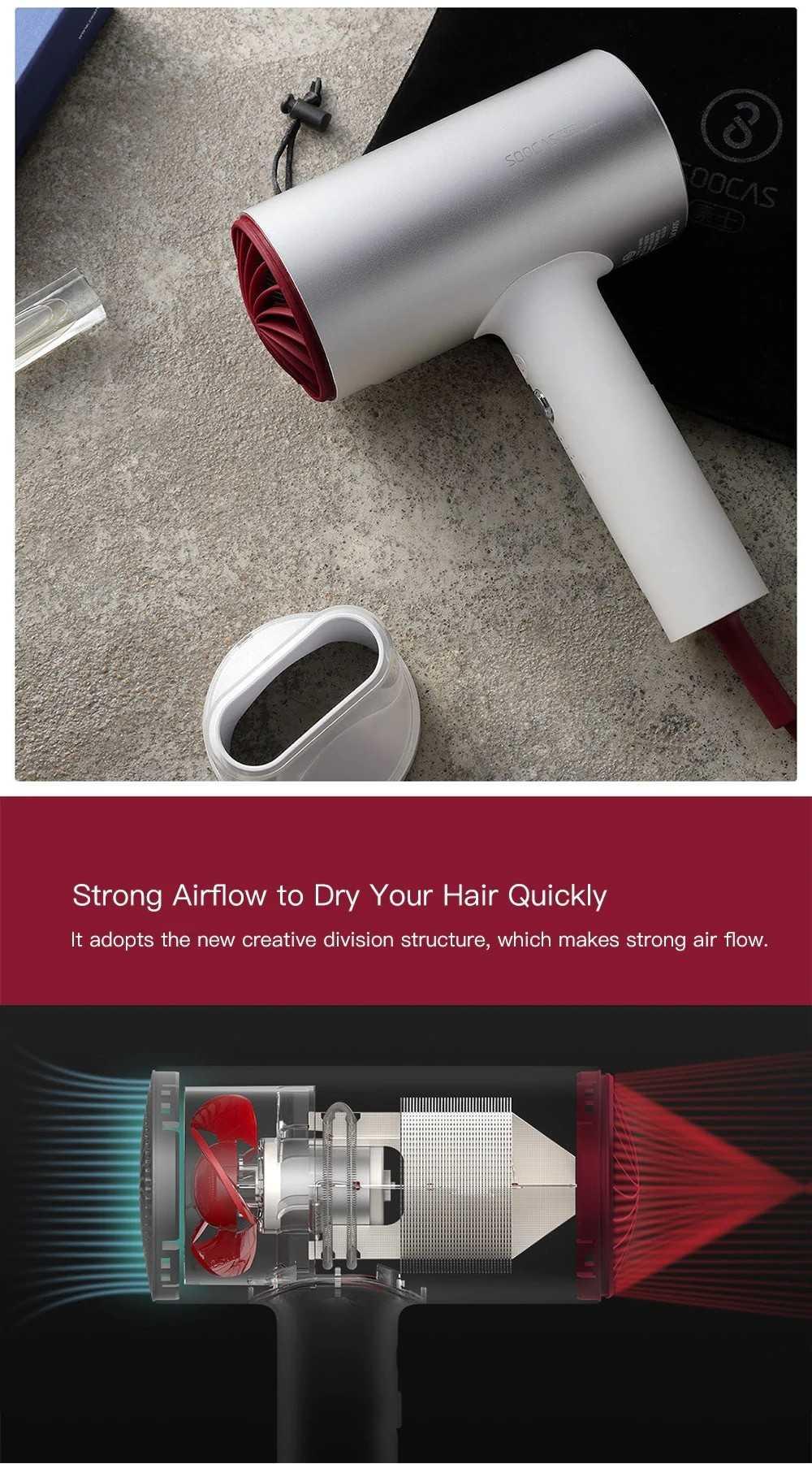 Soocas Electric Hair Dryer H3S