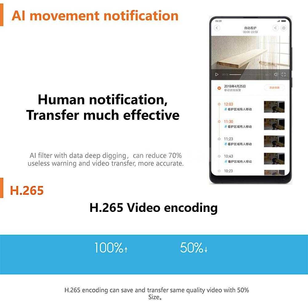 XiaoMi IMI C1 Home Security Camera 1080P