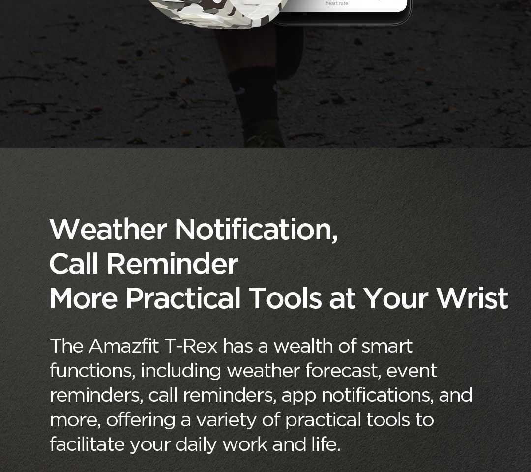 Xiaomi Amazfit T-Rex Smart Watch Wholesale