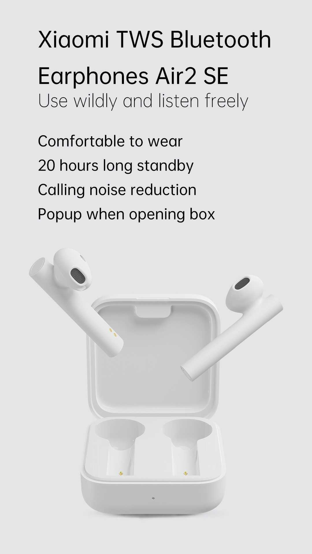 Xiaomi Air 2 SE Wireless Bluetooth Earphones Wholesale