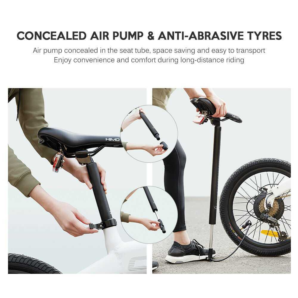 Xiaomi Youpin HIMO C20 Folding Electric Bicycle Wholeseale