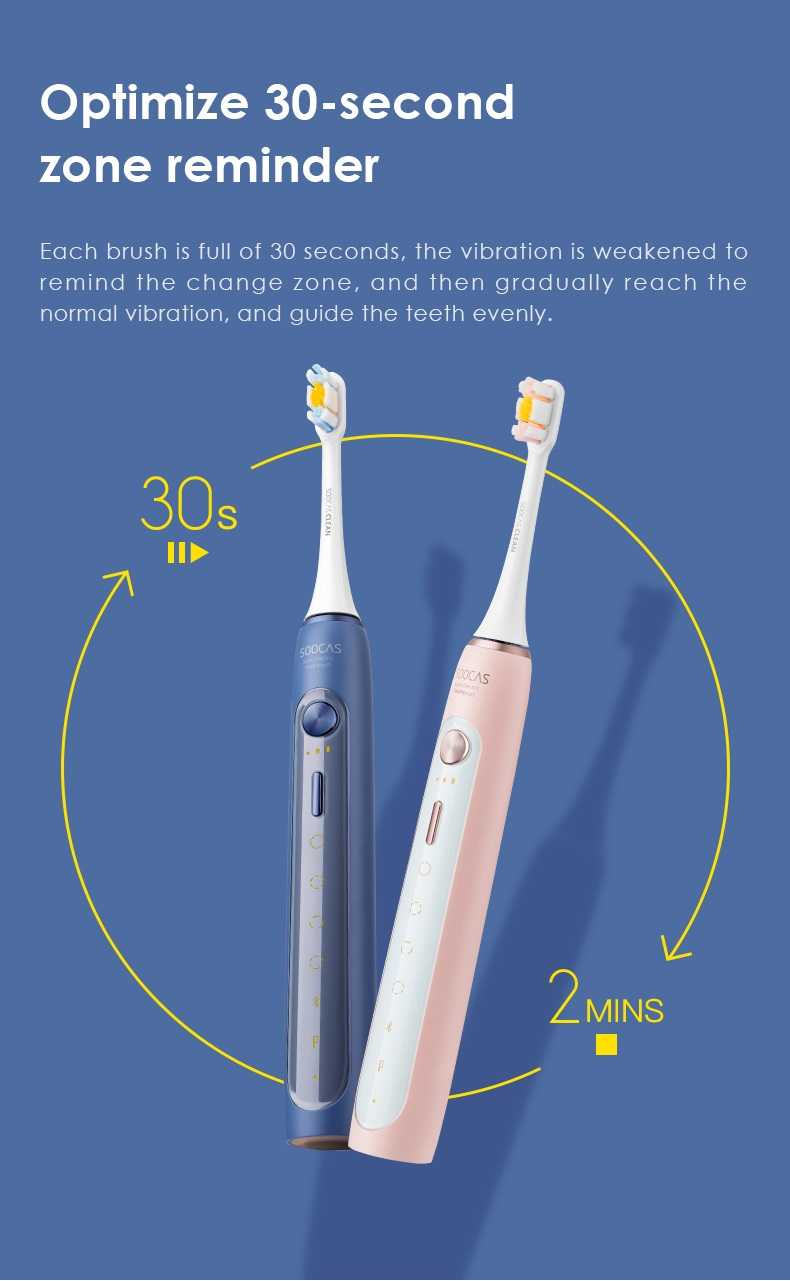 SOOCASX5 Electric Toothbrush