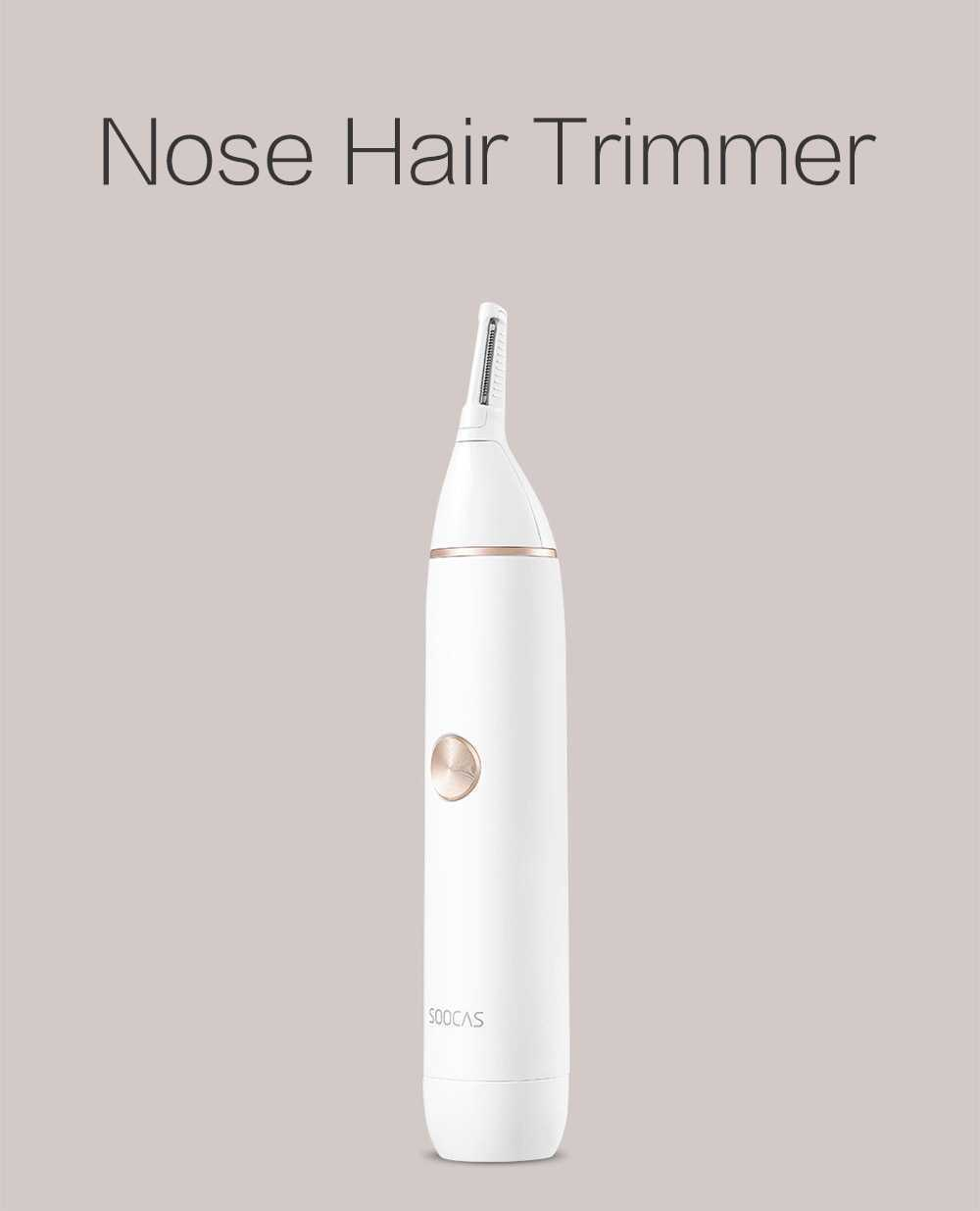 Xiaomi Youpin SOOCAS N1 Washable Nose Hair Trimmer