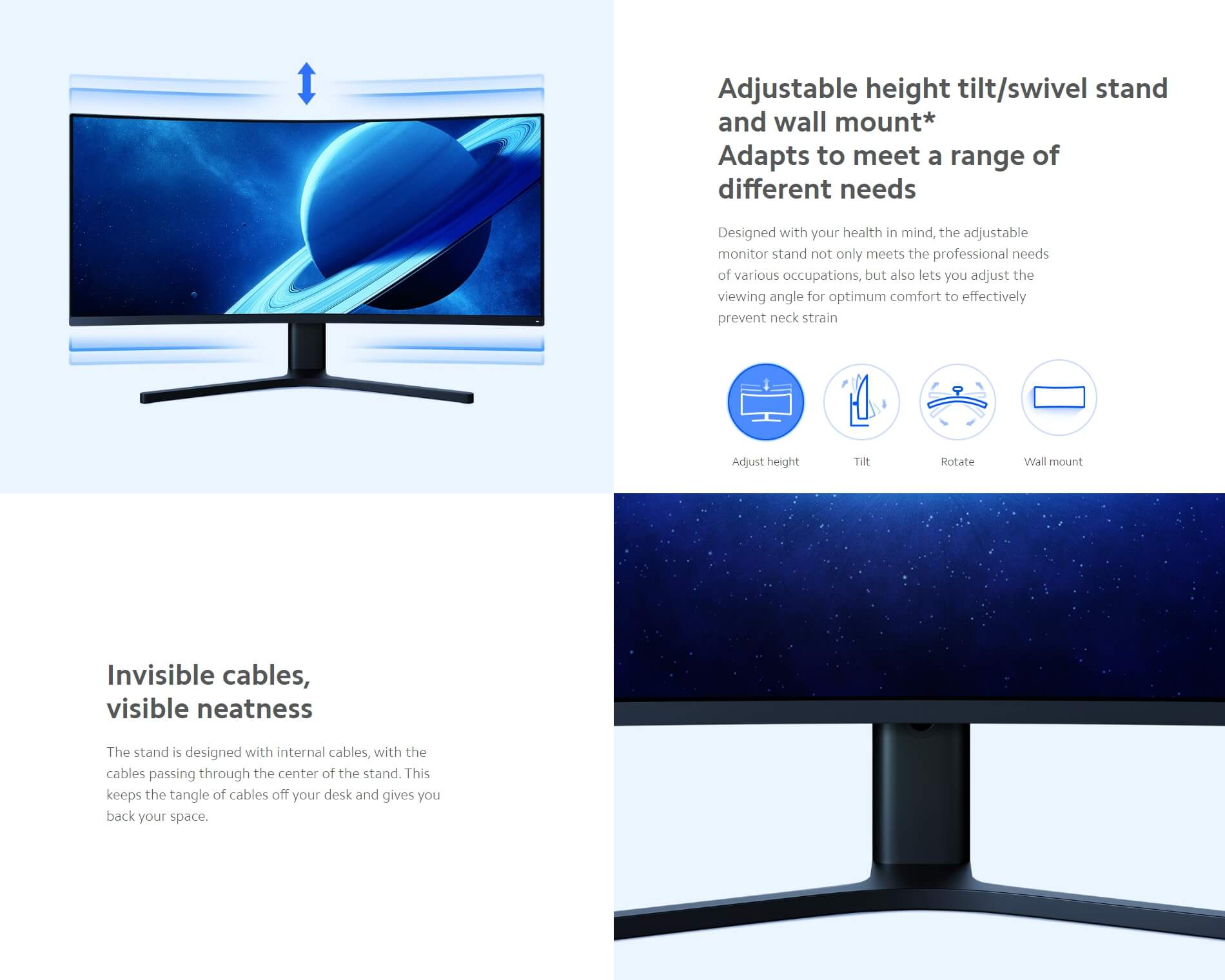 "Xiaomi Mi Curved Gaming Monitor 34"" Wholesale"