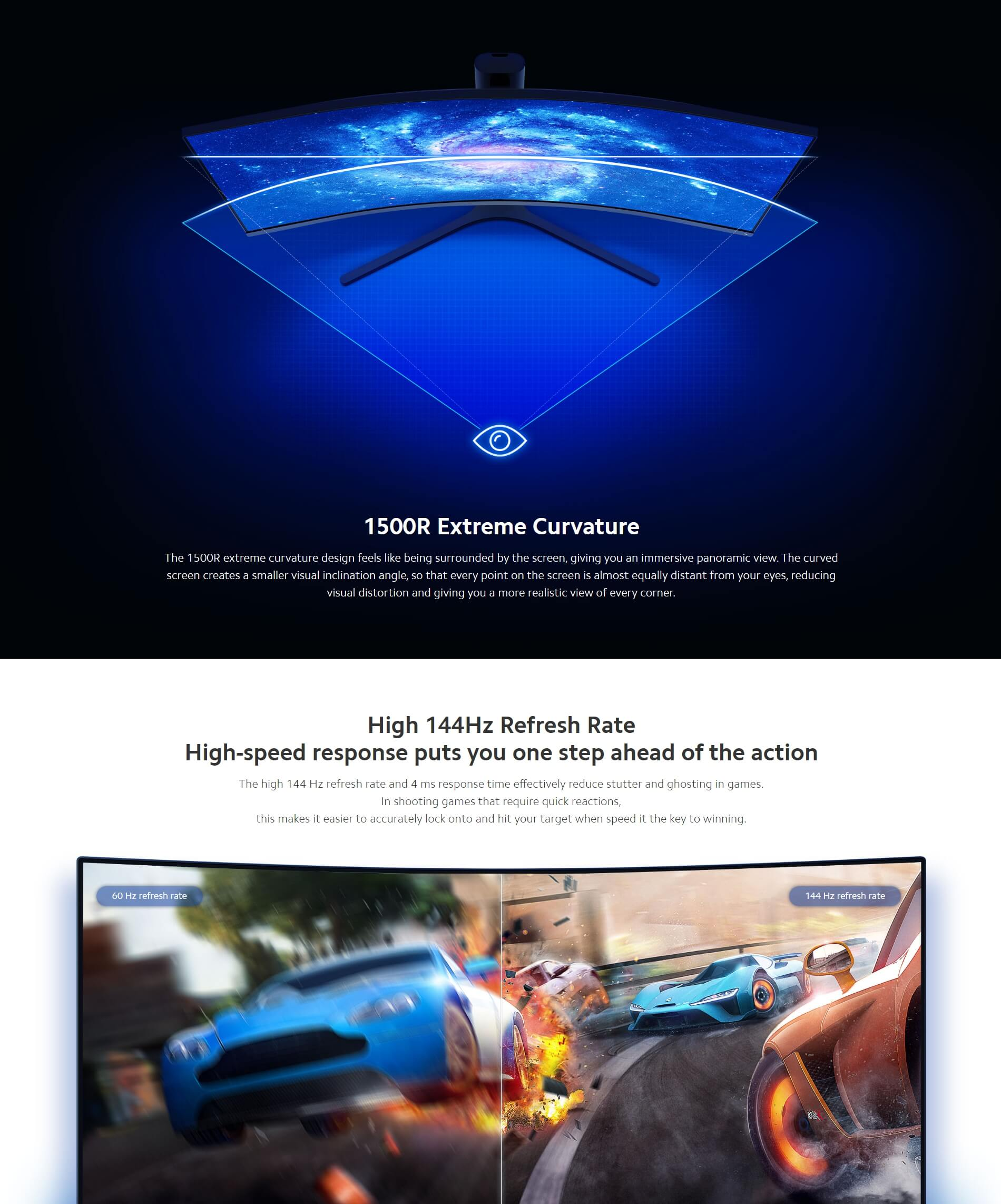 """Xiaomi Mi Curved Gaming Monitor 34"""" Wholesale"""