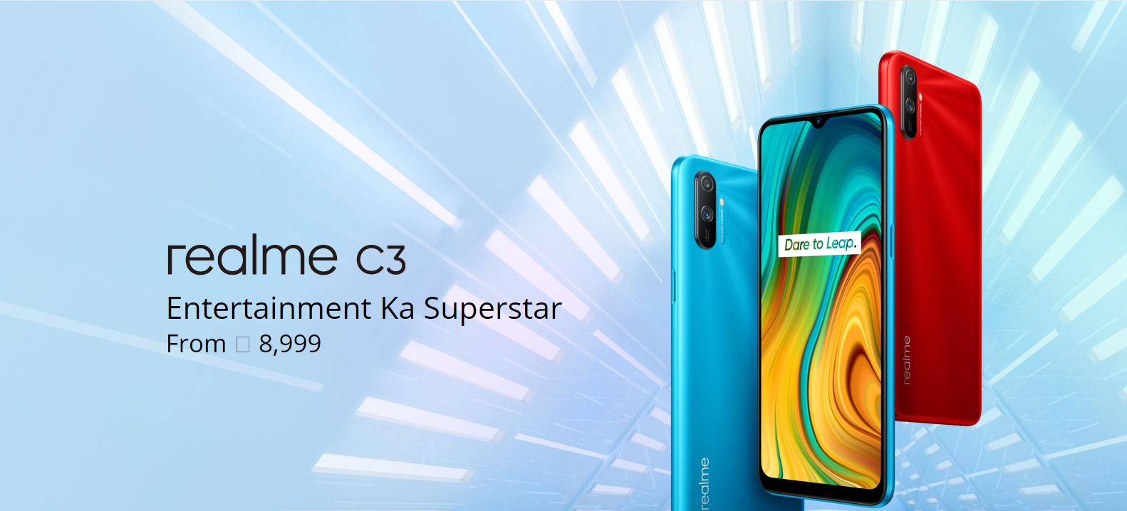 Realme C3 ( 32 GB Storage, 3 GB RAM )