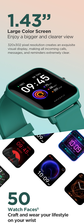 Amazfit Bip U Smartwatch Series Global