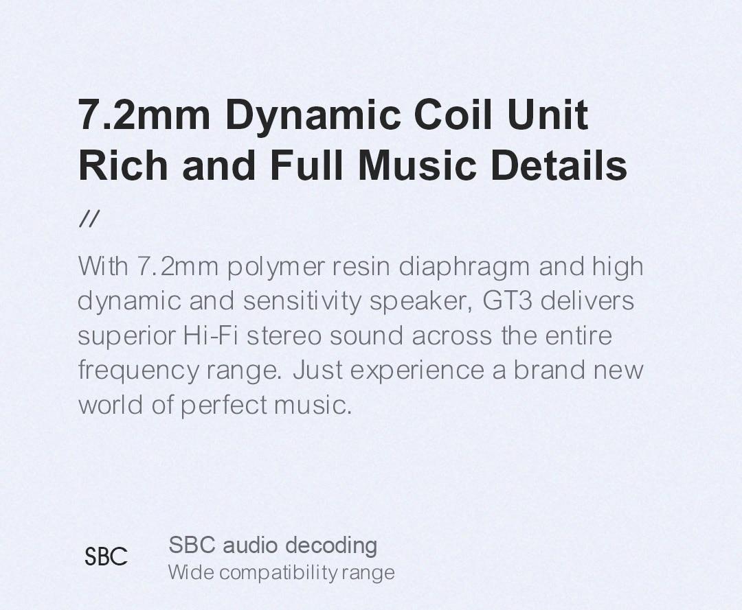 Haylou GT3 TWS True Wireless Earphones